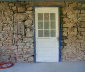 Farmhouse Stone Repointing (before)