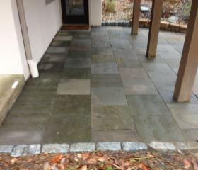 Custom Stonework - Patio (after)