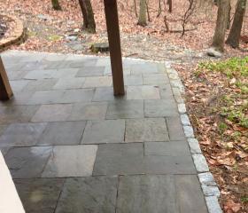 Custom Stonework - Patio