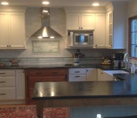 Custom Stonework - Kitchen