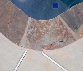 Custom Stonework - Pool