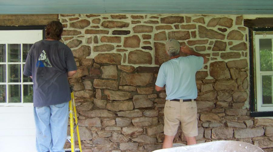 Farmhouse Stone Repointing
