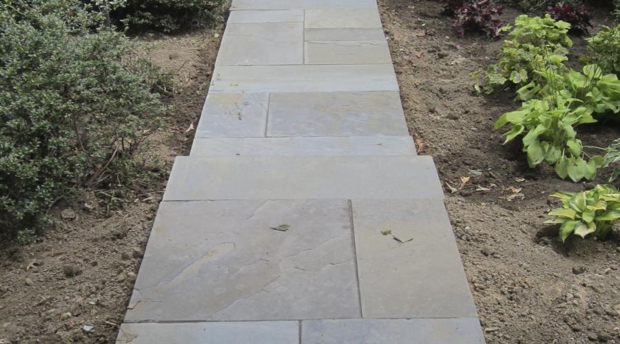 Slate Walkway