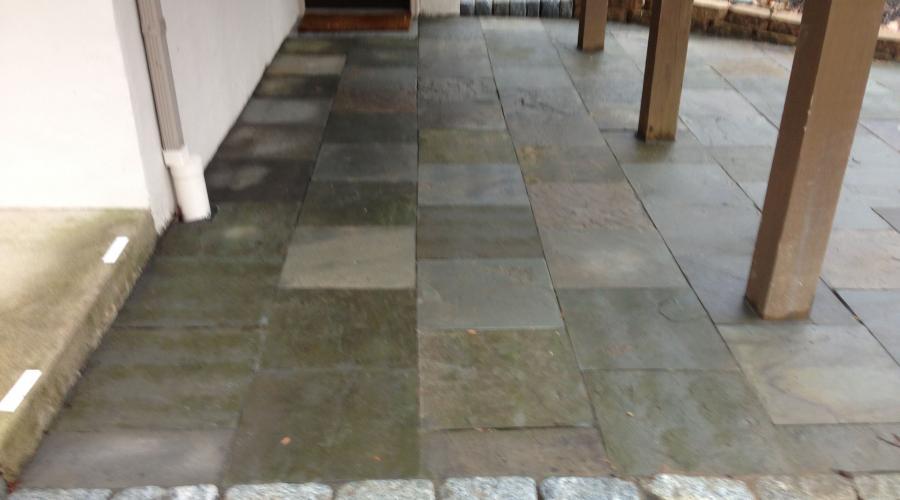 Custom Stonework - Patio (after)
