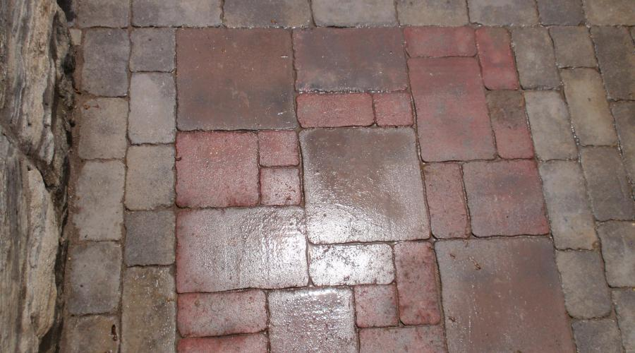 Brick Patio (after)