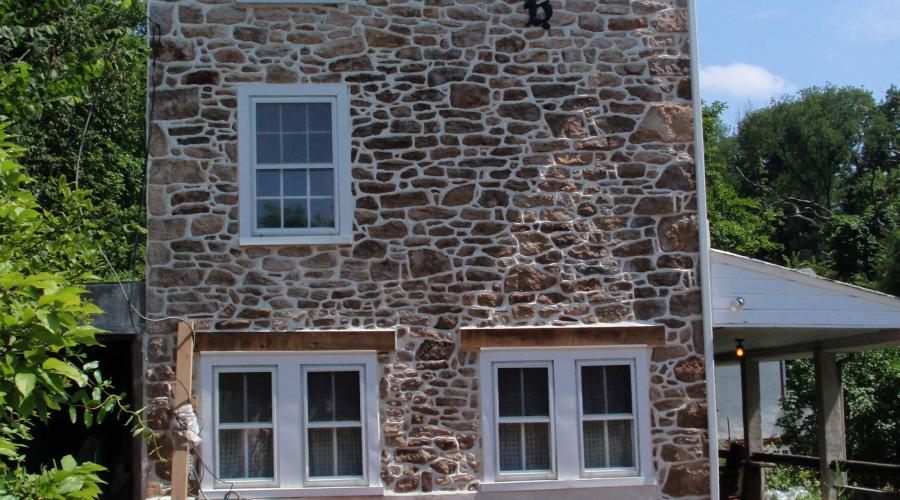 Farmhouse Stone Repointing (after)